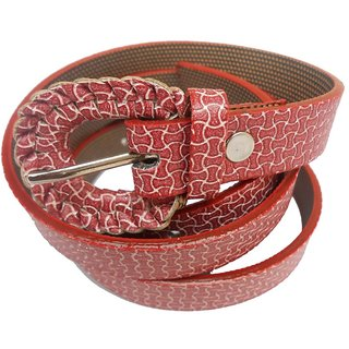 Gci Casual Stylish Women/Ladies Kawach Belts Exclusive Design Bl-11 Maroon
