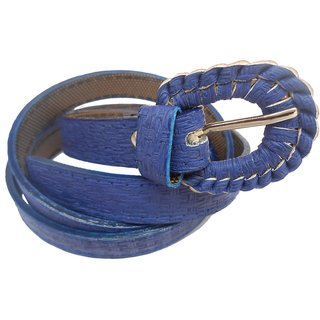 Gci Casual Stylish Women/Ladies Bricks Belts Exclusive Design Bl-13 Blue