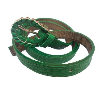 Gci Casual Stylish Women/Ladies Bricks Belts Exclusive Design Bl-13 Green
