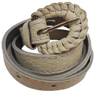 Gci Casual Stylish Women/Ladies Bricks Belts Exclusive Design Bl-13 White