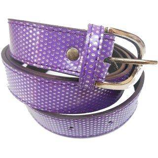 Gci Casual Stylish Women/Ladies Multi Dot Bl-004 Purple Belts Exclusive Design
