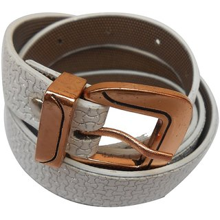 Gci Casual Stylish Women/Ladies Snack Bl-008 White Belts Exclusive Design