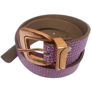 Gci Casual Stylish Women/Ladies Snack Bl-008 Purple Belts Exclusive Design
