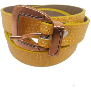 Gci Casual Stylish Women/Ladies Snack Bl-008 Yellow Belts Exclusive Design