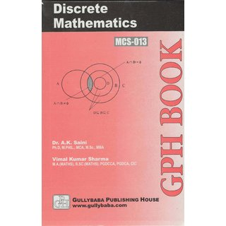 MCS013 Discrete Mathematics (IGNOU Help book for MCS-013 in English Medium)