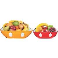 Oliveware Multipurpose Fruit Bowl Set (Big And Small)