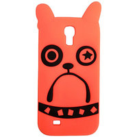 Marc Jacob Silicone Back Case Cover For Samsung S4 (Orange)
