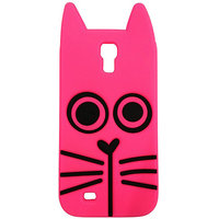 Marc Jacob Silicone Back Case Cover For Samsung S4 (HOT PINK)