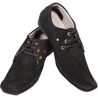 Calaso Men Black casual shoes E-26
