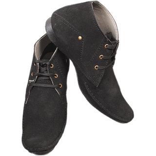 Calaso Men Black Casual shoes E-23