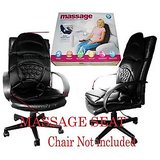5 MOTOR MASSAGE SEAT CUSHION CAR / HOME MASSAGER
