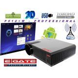 EGATE P512+W 3500 LUMENS HD LCD LED PROJECTOR- USB + HDMI + VGA + AV + TV + LAN