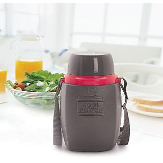 Cello Kool Power Water Bottle (600 Ml) Grey