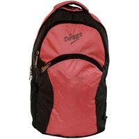Donex Pink & Grey Colour Light Weight Laptop Backpack - RSC00251
