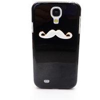 Simple Moustache Back Case Cover For Samsung S4 (Black)