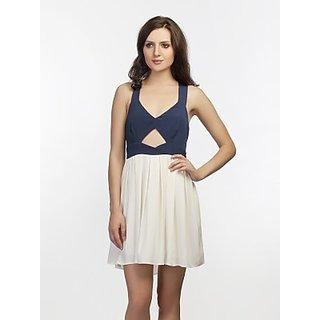 Schwof Front Keyhole Dress