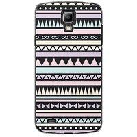 EYP Aztec Black White Back Case Cover For Samsung S4 60071