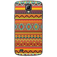 EYP Aztec Red Yellow Back Case Cover For Samsung S4 60070
