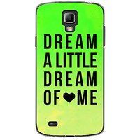 EYP Dream A Little Love Back Case Cover For Samsung S4 60092