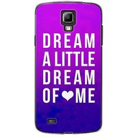 EYP Dream A Little Love Back Case Cover For Samsung S4 60091