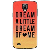 EYP Dream A Little Love Back Case Cover For Samsung S4 60093