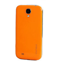 Bubble Pack Thin Back Case Cover For Samsung S4 (Orange)