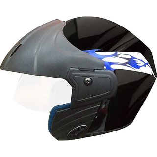 Trace Stylish Black Off-Road Helmet  (Isi Marked) (MAS)