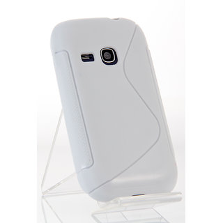 S-line Silicone Soft Cover Case For samsung galaxy young s6310