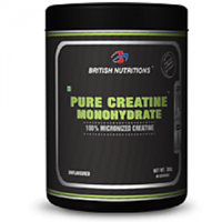 British Nutrition Pure Creatine Monohydrate No Flavor 300Gm
