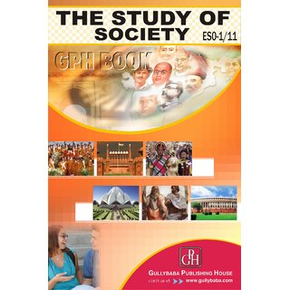 ESO1/11 The Study Of Society (IGNOU Help book for ESO-1/11 in English Medium)