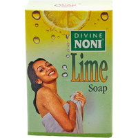 Divine Noni Lime Soap 125gm - Pack Of Six Soaps