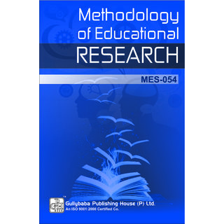 MES0-54 Methodology of Educational Research(IGNOU Help book for MES-054 Methodology of Educational Research in English Medium)