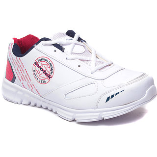 HM-EVOTEK Mens Sports Shoes - Premium White