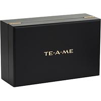 TE-A-ME Wooden Tea Chest Gift Box Of 54 Tea Bags