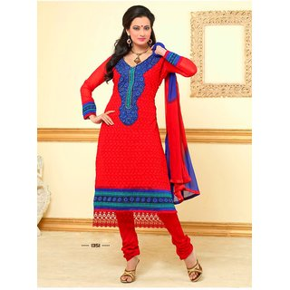 Karachi Dress Material_1351 (Unstitched)