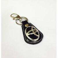 Leather Key Chain Toyota