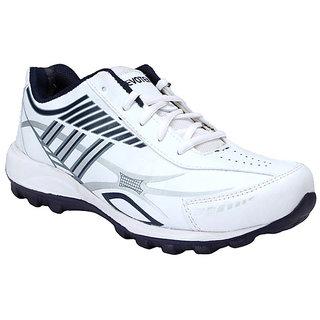 HM Evotek White & Blue Mens Sport Shoes 910-WB