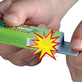 how to make electric shock gum