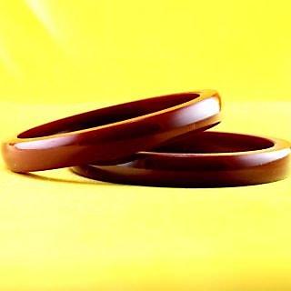 acrylic plastic bangles colour maroon  size-2.4,2.6,2.8