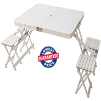 Folding Picnic Table Set Of 2