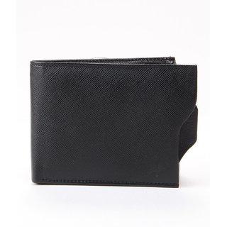 Flapper Leather Gents Wallet - Black