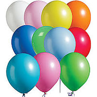 Colorful Balloons (50 PIECES) Shine Latex- Cool Fun, Birthday Party Celebrations
