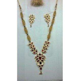 Jethi Pat Jewelry Mehroon