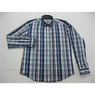 Blue Mens Casual Shirts