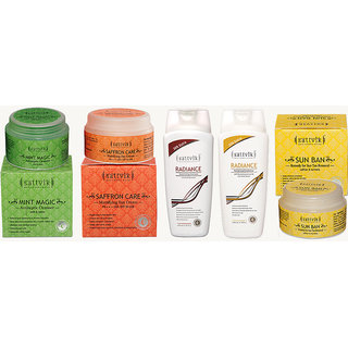 Sattvik organics Skin and Hair care combo