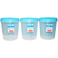 CHETAN 3 PC 7 LTR TWIST LOCK CONTAINER @ RS.679.00 DELIVERY FREE