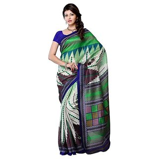 First Loot Multi Color Color Art Silk Saree - Divdfs454A