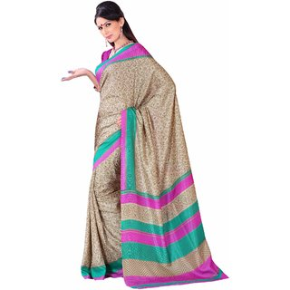 SUDARSHANSILKS CASUAL SAREES-Grey-SSM5442-VS-Art Silk