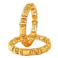 VK Jewels Gold Plated Bangles- BG1030G