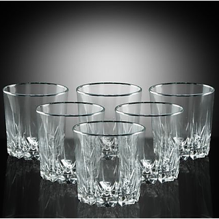 e0350ccd4a6 Buy Being Creative Multipurpose Whisky Party Designer Clear Set of 4 ...